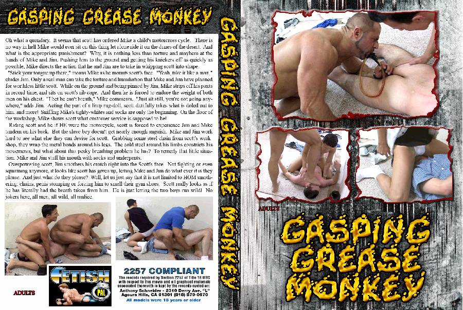 Gasping Grease Monkey - (Full Movie)